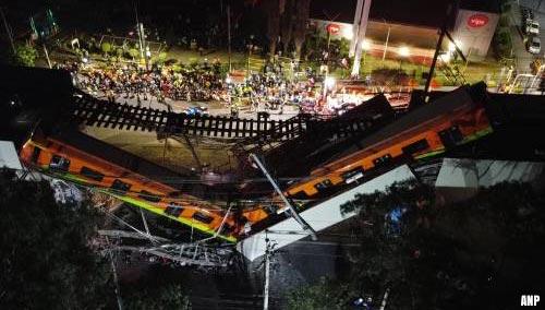 Groot onderzoek naar metro-ongeval in Mexico-Stad