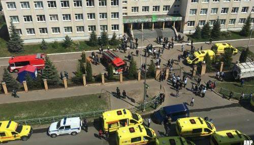 Meerdere doden na schietpartij op school in Rusland