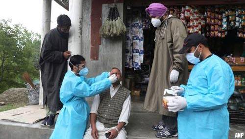 India meldt bijna 260.000 nieuwe coronabesmettingen in 24 uur