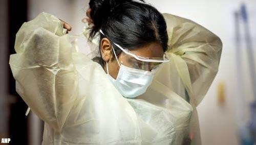 Aantal opnames van coronapatiënten in ziekenhuizen blijft dalen
