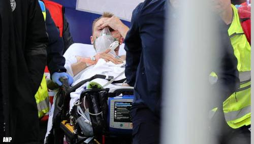 Voetballer Eriksen na hartstilstand ontslagen uit ziekenhuis