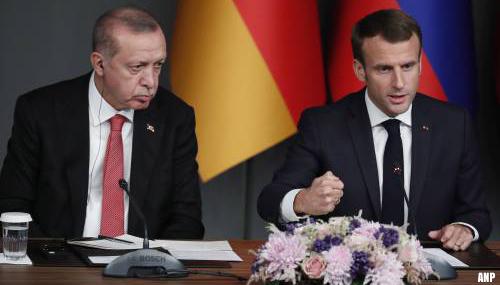 Erdogan, Macron en Biden pogen geschillen bij te leggen