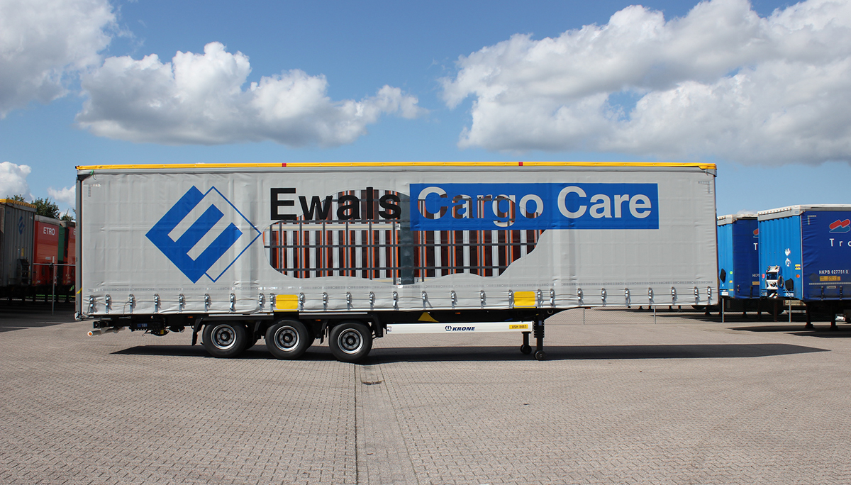 Roland International en Ewals Cargo Care ontwikkelen XLS: de volgende generatie schuifzeilen voor ladingzekering