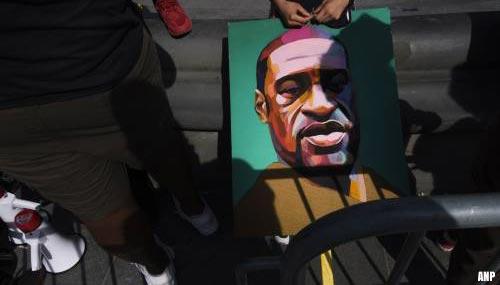 Witte agent die zwarte Floyd doodde moet 22,5 jaar de cel in