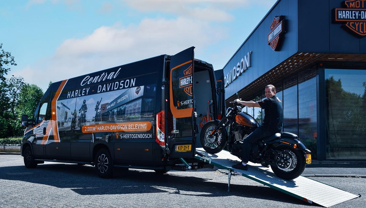 Nieuwe IVECO Daily voor Central Harley-Davidson