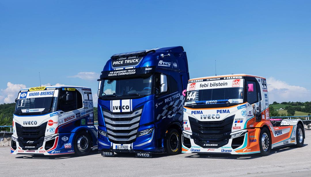 Duurzaam ETRC 2021: IVECO draagt bij aan een vrijwel CO2-neutraal kampioenschap met een IVECO S-WAY NP pace truck