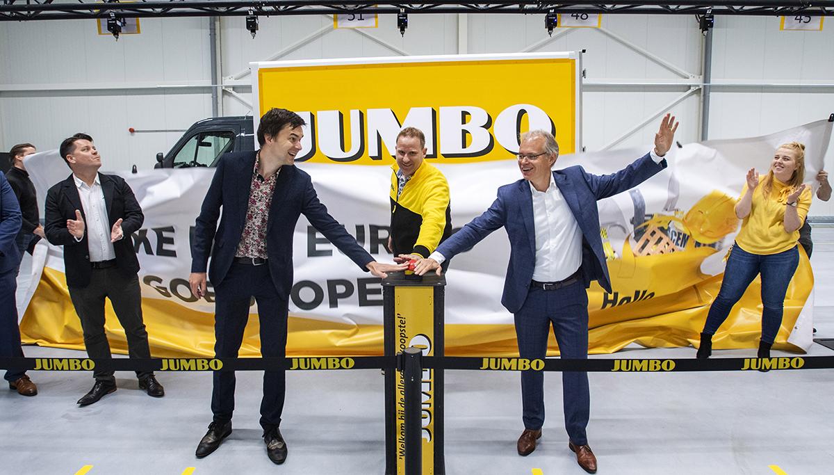 Elfde online thuisbezorglocatie Jumbo feestelijk geopend in Deventer