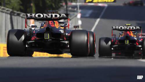Formule 1-leider Verstappen start vanaf derde plek in Bakoe