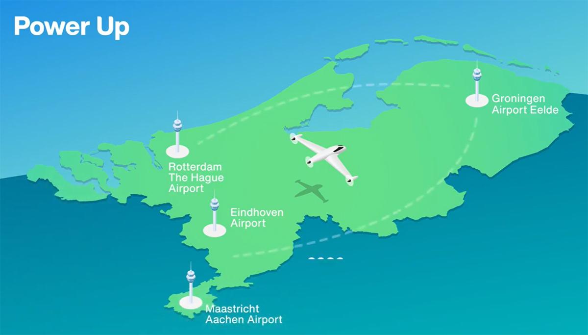 Ook Maastricht Aachen Airport doet mee aan Power up