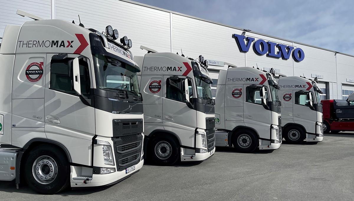 Noors transportbedrijf Thermomax vernieuwt zijn complete wagenpark