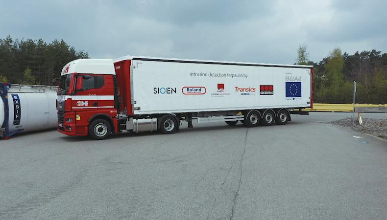 ZF, Roland International, Sioen & Securitas ontwikkelen de veiligste trailer ooit