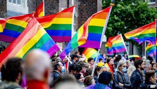 Ruim 500 aanwezigen bij protest tegen Hongaarse anti-LHBTI-wet