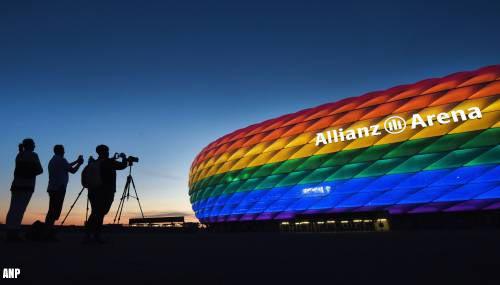 UEFA verdedigt zich en verandert logo in kleuren van de regenboog