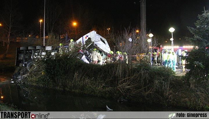 Voorwaardelijke gevangenisstraf en vier jaar ontzegging van de rijbevoegdheid voor vrachtwagenchauffeur na dodelijk ongeval A16