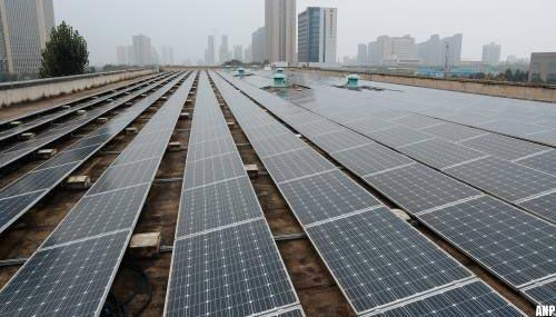 'VS leggen import grondstoffen zonnepanelen uit China aan banden'