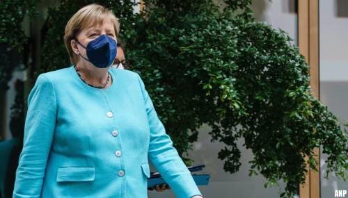 Bondskanselier Merkel maakt zich zorgen over aantal besmettingen