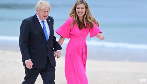 Britse premier Johnson en vrouw Carrie verwachten tweede kind