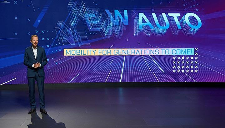 Volkswagen Groep presenteert NEW AUTO-strategie tot 2030