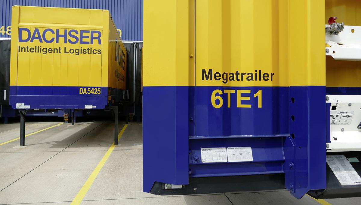 Dachser focust op meer laadruimte met aanschaf megatrailers