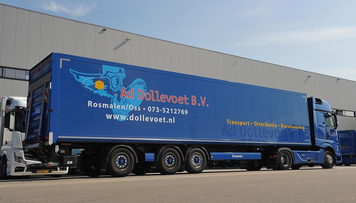 Elf nieuwe Krone trailers voor Dollevoet