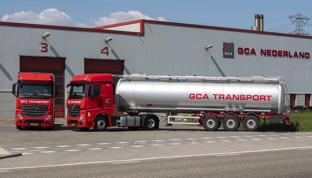 GCA Nederland voegt twaalf Mercedes-Benz Actrossen toe aan haar vloot
