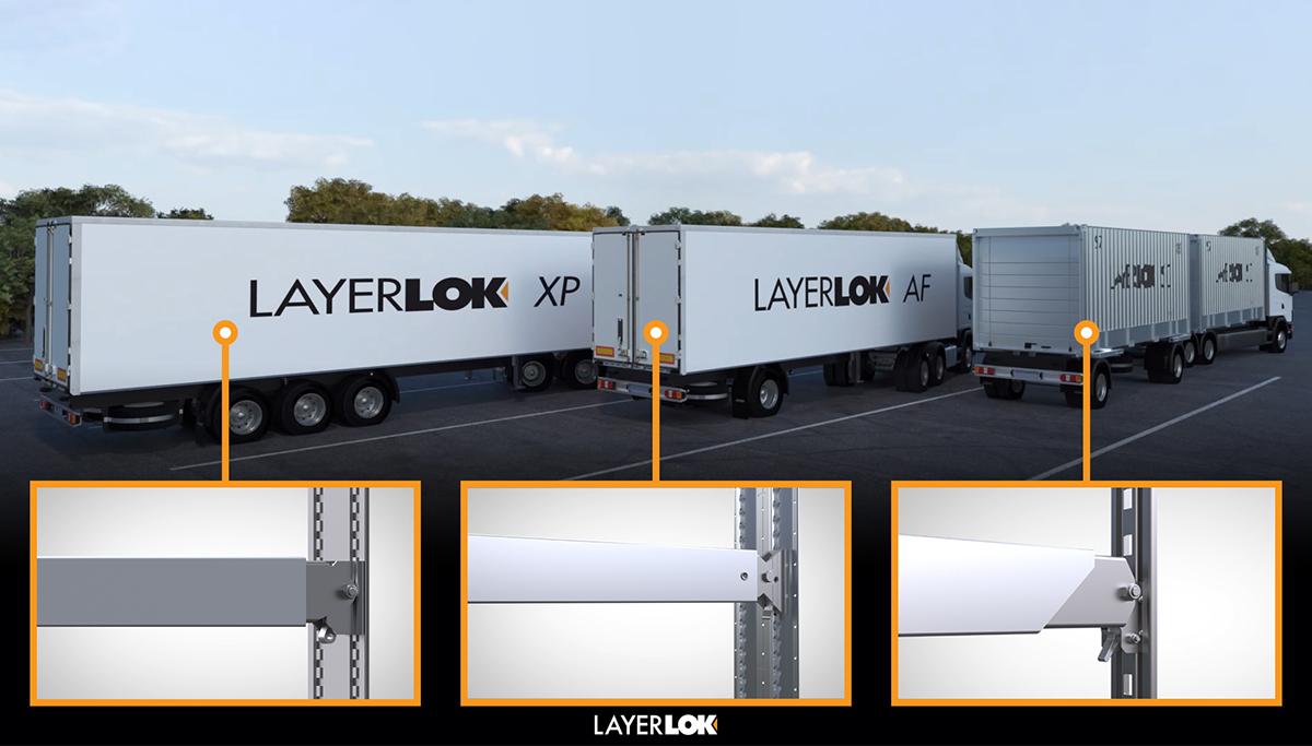 LayerLok: nieuwe reeks dubbele laadvloer oplossingen van LoadLok