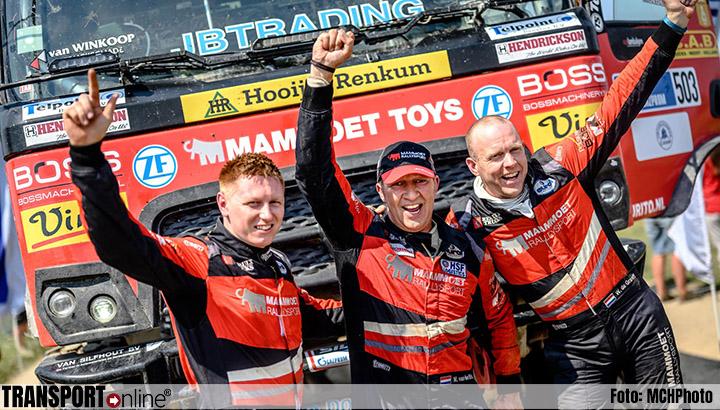 Martin van den Brink pakt zesde plaats in ingekorte Silk Way Rally
