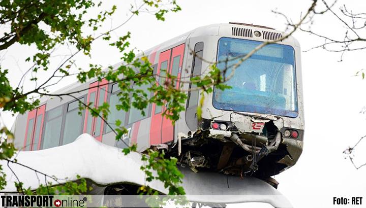'Metro Spijkenisse reed te hard en kon onvoldoende afremmen'