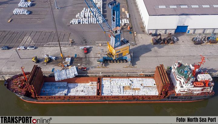 Goederenoverslag North Sea Port stijgt in eerste halfjaar met ruim vijf procent