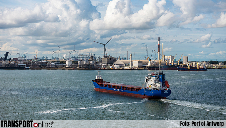 Port of Antwerp kent eerste halfjaar groei
