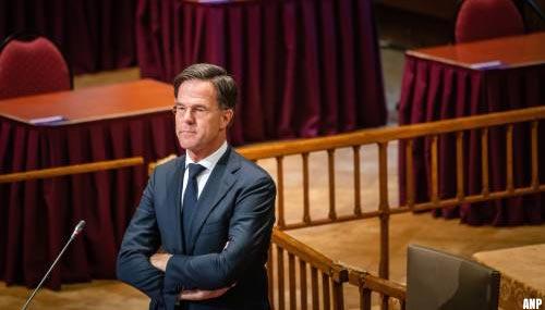 Rutte vindt motie BIJ1 over coronastrategie 'onbeschaafd'