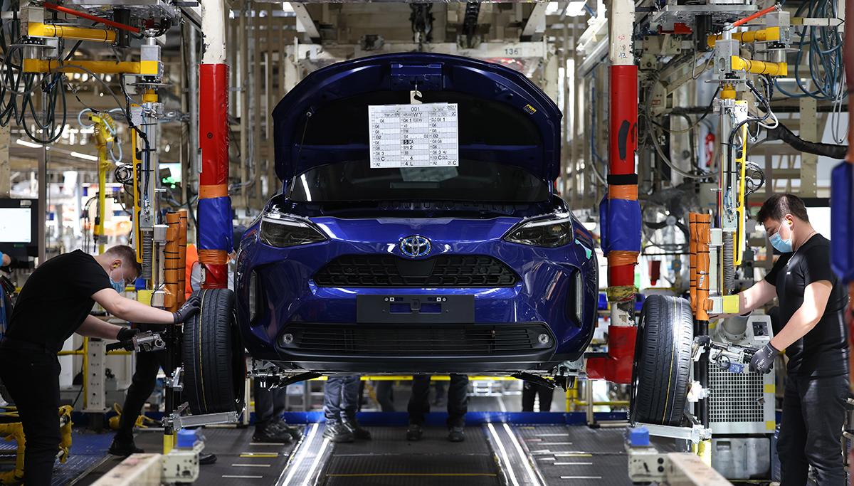 Toyota gestart met productie van de nieuwe Yaris Cross