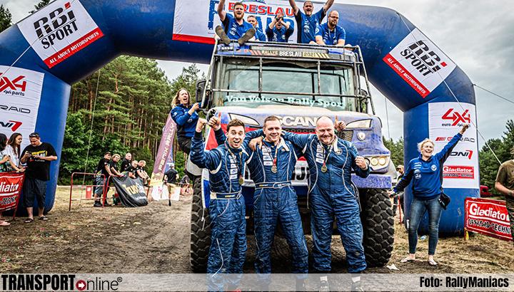 Aad van Velsen derde in de Breslau Rallye