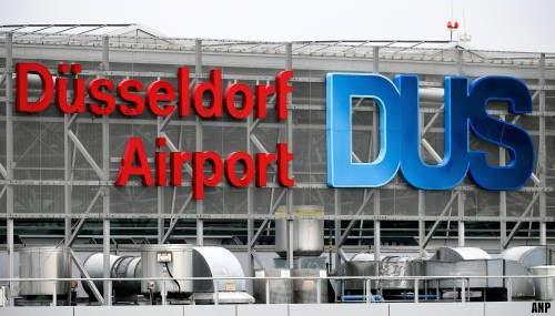 'Gewonde bij steekpartij op luchthaven Düsseldorf'
