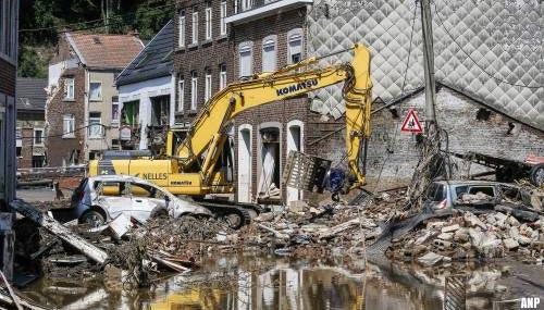 Opkrabbelend België zet zich schrap voor nieuwe regen
