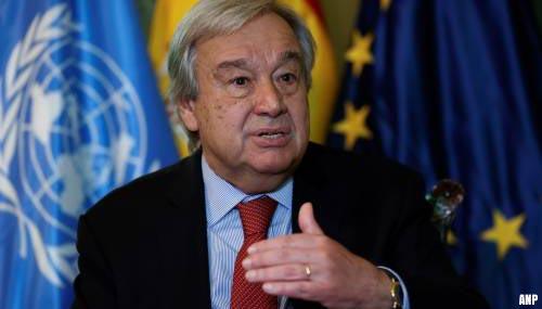 VN-chef noemt klimaatrapport doodsklap voor fossiele brandstof