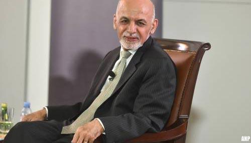 Afghaanse ex-president gevlucht naar Verenigde Arabische Emiraten