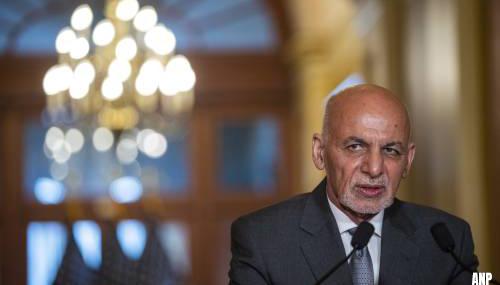 Afghaanse president Ashraf Ghani heeft land verlaten