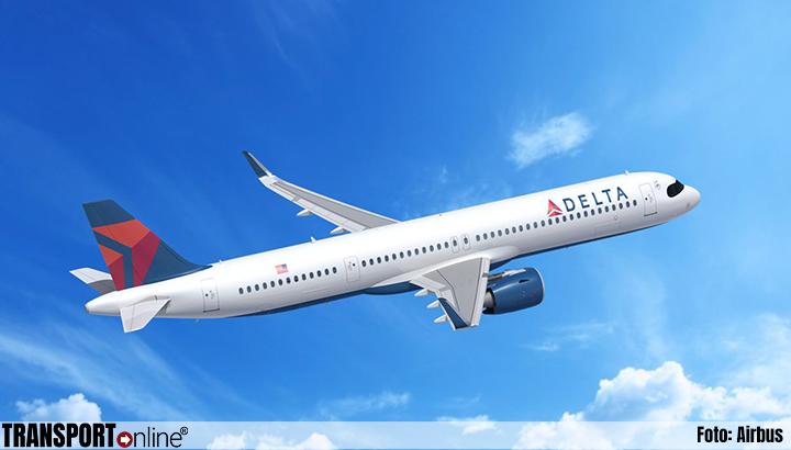 Delta Air Lines breidt grote bestelling bij Airbus verder uit