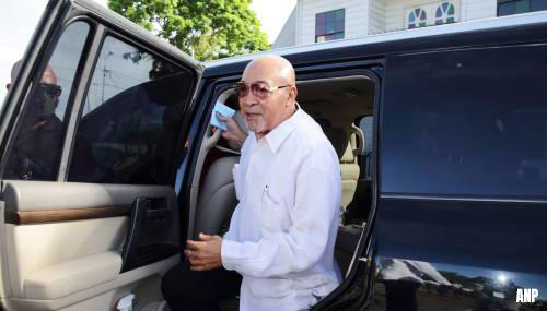 Einde proces Desi Bouterse nadert, oud-president mogelijk vastgezet