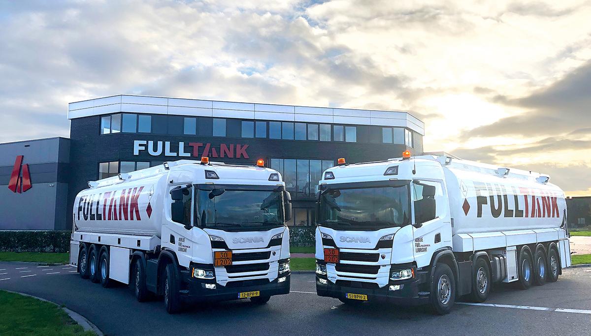 FullTank koopt vier bijzondere Scania tankwagens
