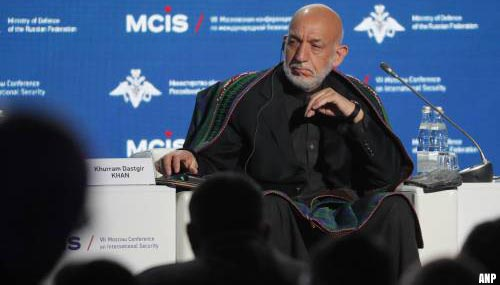 Talibanleiders ontmoeten ex-president Hamid Karzai