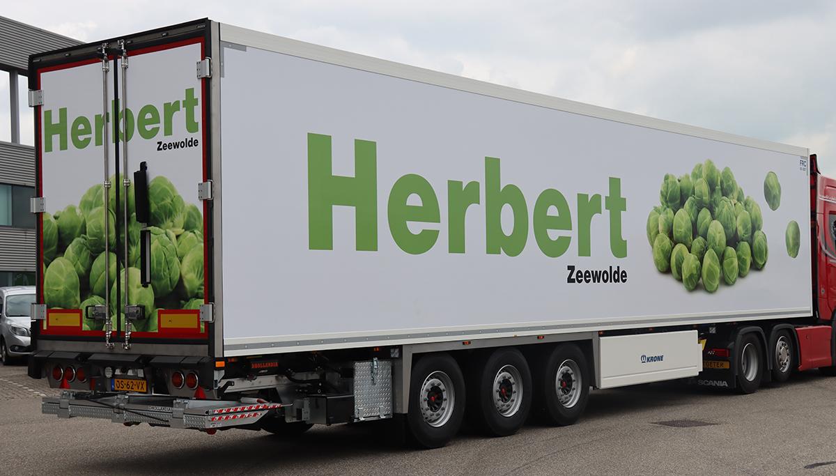 Nieuwe Krone polyester koeloplegger voor Gebr. Herbert