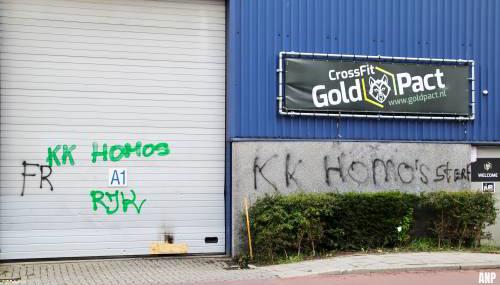 Homofobe teksten op sportschool van oprichter Roze Kameraden
