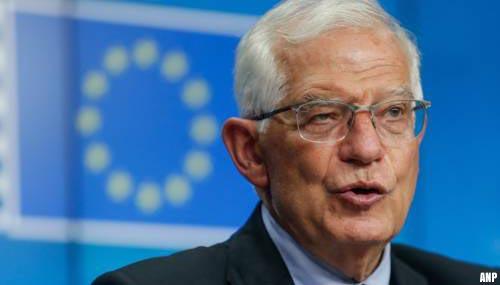 EU-buitenlandchef Josep Borrell: we moeten met Taliban praten