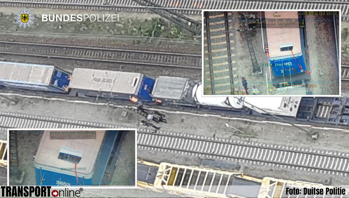 Politie voert controles op goederentreinen op na stijging aantal migranten [+foto]