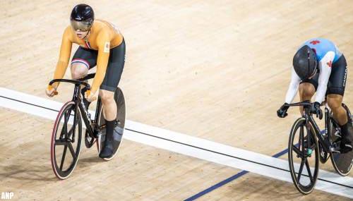 Shanne Braspennincx snelt naar goud op olympische wielerpiste