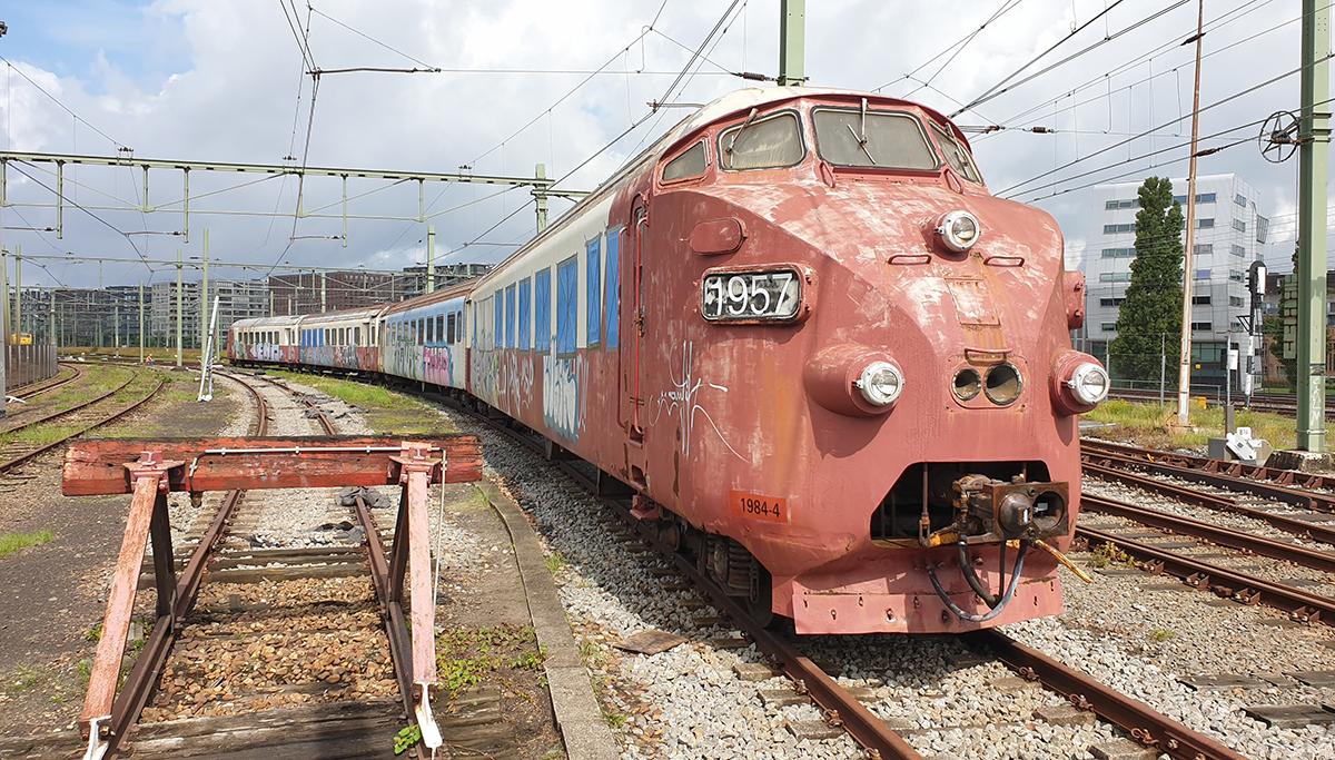 Spectaculair transport TEE-trein naar Transport Museum
