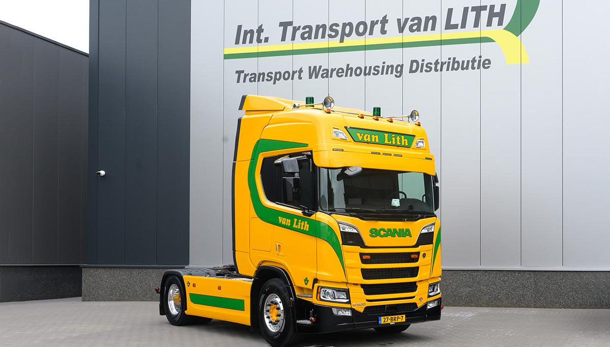 Van Lith Transport kiest voor Scania R520 V8
