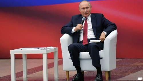 Poetin trakteert gepensioneerden kort voor verkiezingen